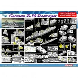 D1037 1:350 GERMAN Z-39...