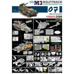 D3586 1:35 IDF M3 HALFTRACK...