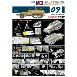 D3597 1:35 IDF M3 HALFTRACK...