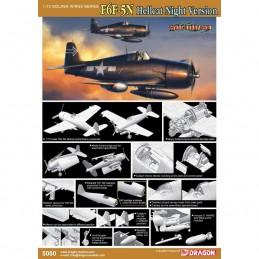 D5080 1:72 F6F-5N HELLCAT...