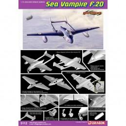 D5112 1:72 SEA VAMPIRE F.20...