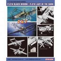D5122 1:72 P-61A / P-61B (2...