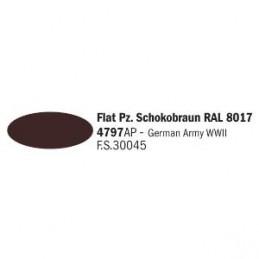 4797AP AKRYL - FLAT PZ. SCHOKOBRAUN RAL 8017