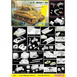 D6618 1:35 U.S. M4A1 DV...
