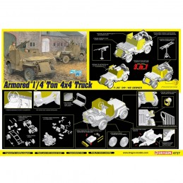 D6727 1:35 ARMORED 1/4-TON...