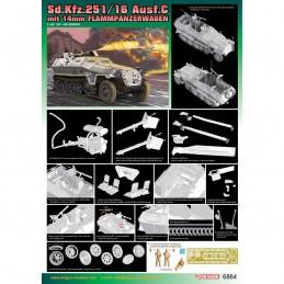 D6864 1:35 Sd.Kfz.251/16 C...