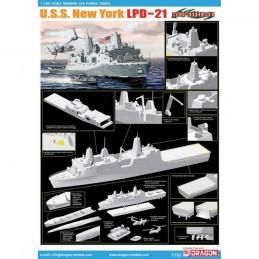 D7110 1:700 U.S.S. NEW YORK...