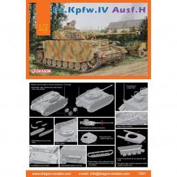 D7551 1:72 Pz.Kpfw.IV Ausf.H