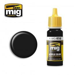 AMIG0032 FARBA: SATIN BLACK