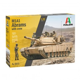 I6571 1:35 M1A2 ABRAMS WITH...
