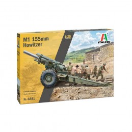 I6581 1:35 M1 155mm GUN w/CREW