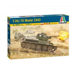 I7078 1:72 T34/76 Model 1943