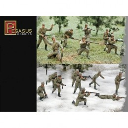 PG7498 1:72 WWII Russians...