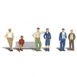 WA1872 H0 figury: LUDZIE...