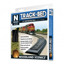 WST1475 N Scale Trackbed...