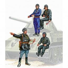 Z3504 1:35 SOVIET TANK CREW
