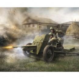 Z6112 1:72 SOVIET GUN 45 MM