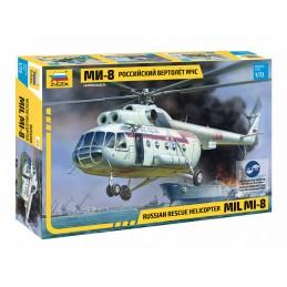Z7254 1:72 MIL MI-8 RESCUE HELICOPTER