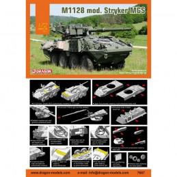 D7687 1:72 M1128 STRYKER MGS