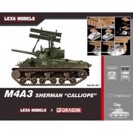 D7677 1:72 M4A3 SHERMAN...