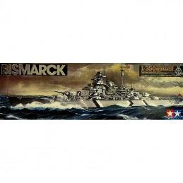 Tamiya 78013 1/350 Bismarck