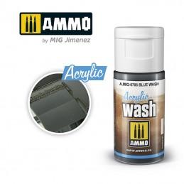 AMIG0706 ACRYLIC WASH: BLUE...