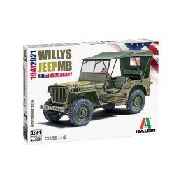 I3635 1:24 WILLYS JEEP MB...